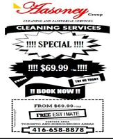 CLEANING SERVICES SPECIAL