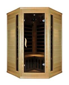 Blackstone Far infrared corner two person saunas on sale $2299, was $2999