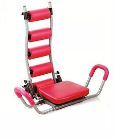 Ab Rocket Crunch Twist Trainer Abdominal Home Gym Exercise Workout Trainer UKFit New