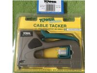 DIY Hand Tool: Tower Cable Tacker & Staples (qty 1000)