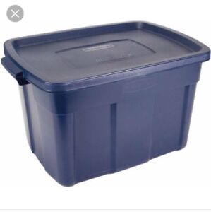 WANTED: Navy Blue Roughneck Rubbermaid Totes