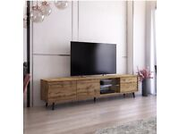 GOLDEN OAK TV STAND