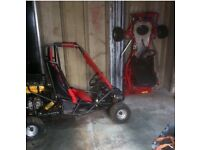 Gocart rolling chassis