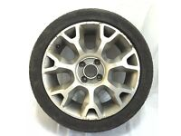 "Fiat 500 16"" alloy wheel with tyre"
