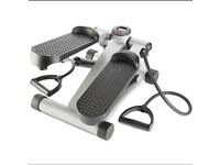 Stepper with resistance bands