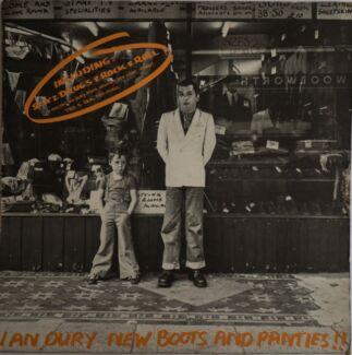 IAN DURY vinyl LP NEW BOOTS AND PANTIES -  1978 - optional CD