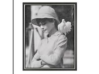 Simon Claridge: Hepburn with Dove. Limited Edition Silkscreen on Paper