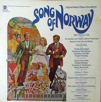 Song Of Norway   Lp Soundtrack   Abc Label    Still Sealed