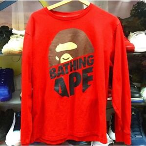 Bape long sleeve