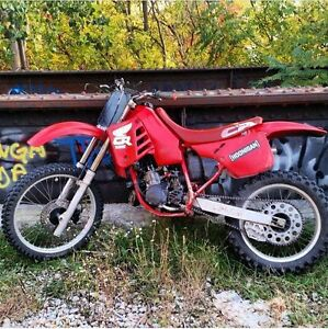 1988 cr125r forsale or trade for car or SUV