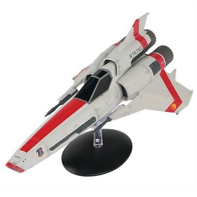 Battlestar Galactica Viper Mark II Ship Model with Magazine #1 by Eaglemoss