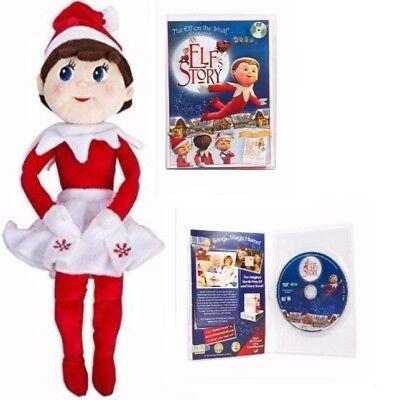 The Elf on the Shelf Girl Plushee Pal - Light with An Elf Story - Elf On The Shelf Stuffed Animal