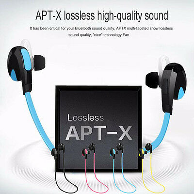 Universal Bluetooth Wireless Handfree Headset Stereo Headphone Earphone Sport