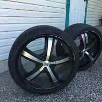 4 Toyo Tires with DIP rims - quick sale wanted