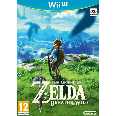 Wii U The Legend of Zelda Breath of the Wild Brand New Sealed Nintendo UK PAL