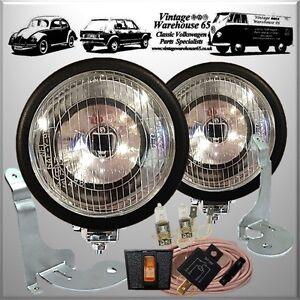 bmw mini cooper s sport black spot lights fog ls brackets wiring kit covers ebay