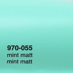 18-41-m-0-5m-x-1-52m-Oracal-970ra-MINT-Matt-055-Pelicula-Auto-Lamina-RAPID