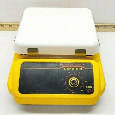 Barnstead Thermolyne Cimarec Magnetic Stirrer 7 X 7 Ceramic Plate S131125