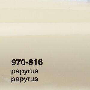 17-09-m-0-5m-X1-52m-Oracal-970ra-Papyrus-Glanz-816-Pelicula-Auto-Lamina