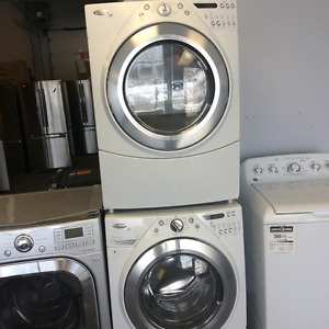 """WHIRLPOOL 27"""" FRONTLOAD WASHER AND DRYER SET"""