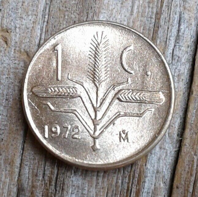 Mexico Un (1)Centavo 1972 Uncirculated RARE Smaller Size Coin
