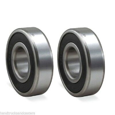 Pack Of 2 Chrome Precision Sealed Ball Bearing 1.5748 Od X .75 Id 6203-12
