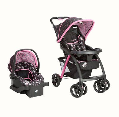 Disney Saunter Luxe Travel System Stroller & Car Seat - Alice in Wonderland on Rummage