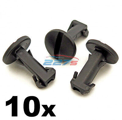 10x Land Rover Discovery 4 & Range Rover Tow Eye Cover Clips, Bumper Trim Clips