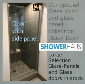 Frameless  Glass  Shower  Enclosure from $ 382.00 our special.