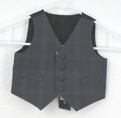 Andrew Fezza Toddler's Plaid Vest Size 6/9