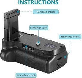 Neewer Pro Battery Grip for Nikon DSLR Camera Compatible with EN-EL14 Batteries
