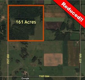 Land with unlimited possibilities in Thorhild County REDUCED!!!