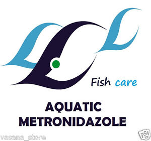 Aquatic metronidazole 400mg 50 tablets counts treat fish for Metronidazole for fish