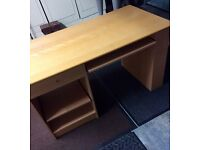 Desk and desk chair