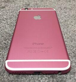 iPhone 6 custom colour 16GB pink Locked on EE, Tmobil, Orange and Vergin U.K.