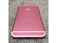 iPhone 6 custom colour 16GB pink Locked on EE, Tmobil, Orange and Vergin U.K. networks.