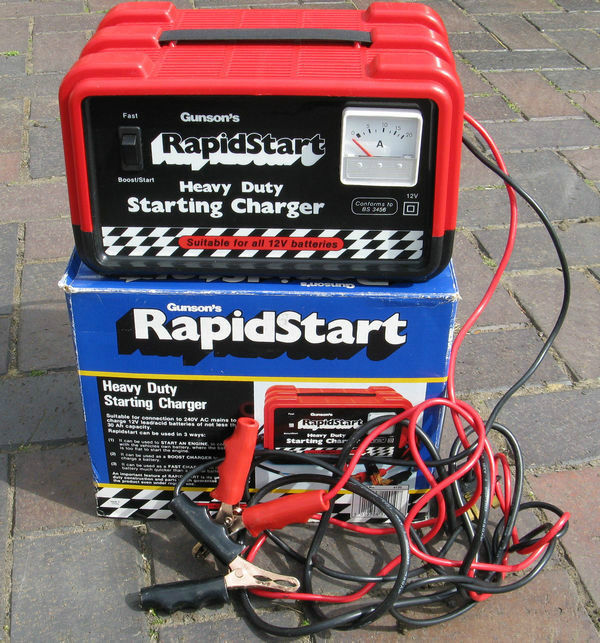 Gunson S Rapidstart Heavy Duty Starting Battery Charger