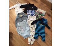 Baby boy bundle clothes including Joules coat