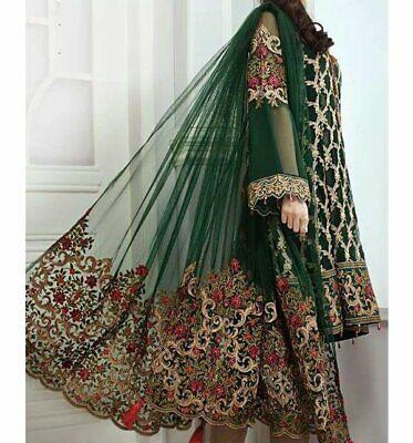INDIAN /Pakistani women  FABRIC DRESS NET  Salwar Kameez free shipping LTO