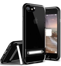 iPhone 6/7 case with 2glass screen protectors