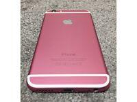 iPhone 6 custom colour 16GB pink Locked on EE, Tmobil, Orange and Vergin U.K. networks.