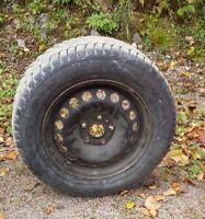 4 pneus cloutés 195/65R15