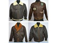 UK Wholesale Vintage Clothing Supplier (Military, Type B3 Aviator, Motorbike & Wax Cotton Jackets)