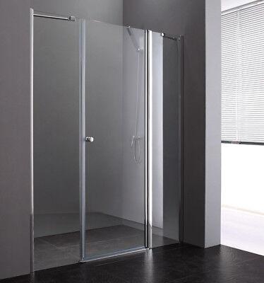 Dusche DuschkabineDuschabtrenung Nischentür Drehtür 6mm ESG Glas PP3-140