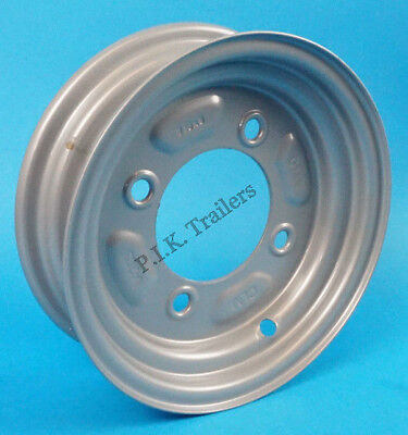 """Daxara 127 and Erde 122 2 x Trailer Wheels and Tyres 400x8/"""" Fit MP6812 Pair"""