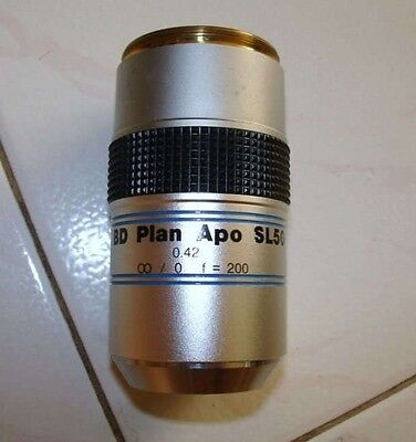 Mitutoyo Bd Plan Apo Sl50 Sl 50x Microscope Objective Lens 378-841 Free Shipping