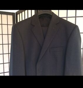 Pure Wool Pinstriped Suit Croydon Maroondah Area Preview