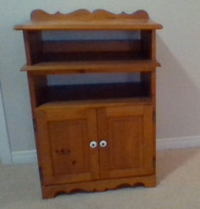 timber cabinet/tv stand