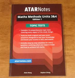 atar notes topic tests | Textbooks | Gumtree Australia Free