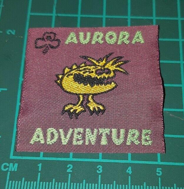 Aurora Adventure Girl Guides Australia Badge